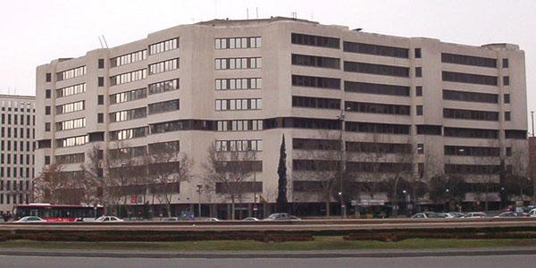 Juzgados de Plaza Castilla en Madrid