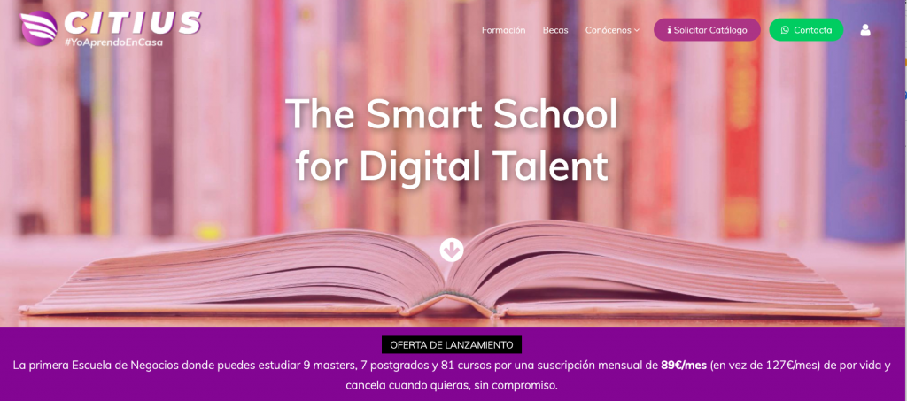 citius Smart School digital business school